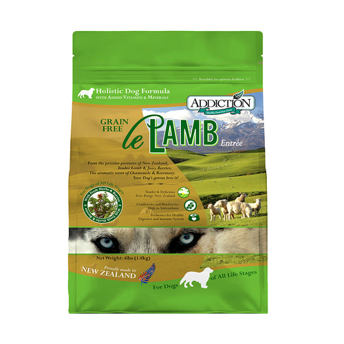 Addiction Le Lamb Entree Kibble for Dog