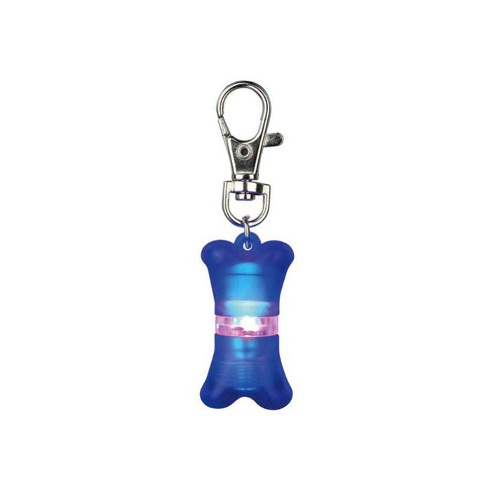 Trixie Bone Shaped Flashing Light For Dog Collar