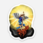 St. Michael the Archangel Sticker Decal
