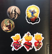 St. Joseph & Jesus Sticker Decal