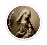 Sorrowful Mother Sticker Decal