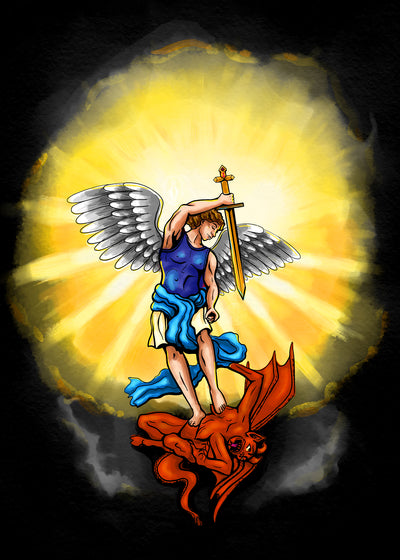 St Michael the Archangel Print