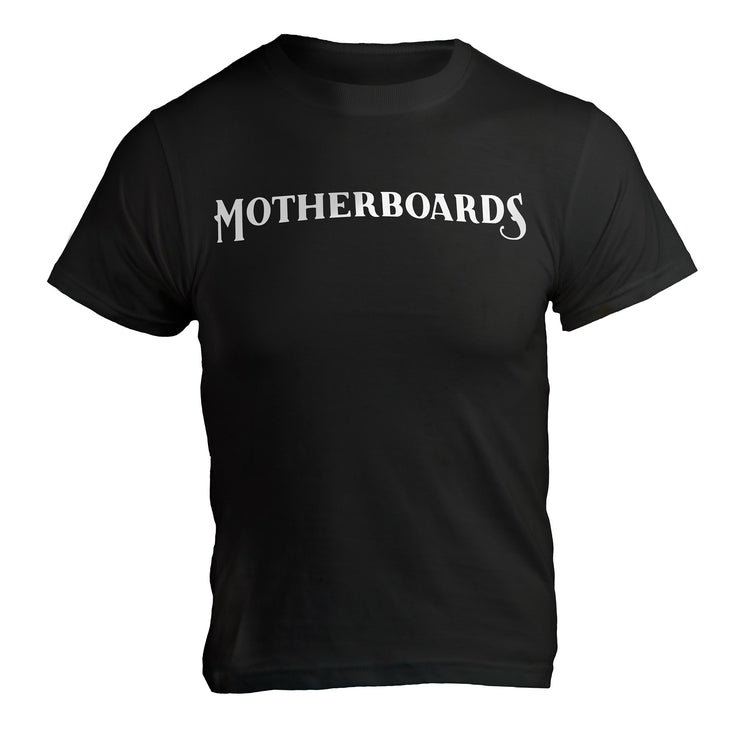 Motherboards Black T-Shirt
