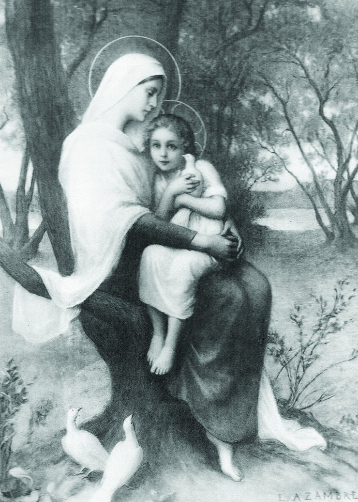 St. Anne and the Child Mary Print 5X7