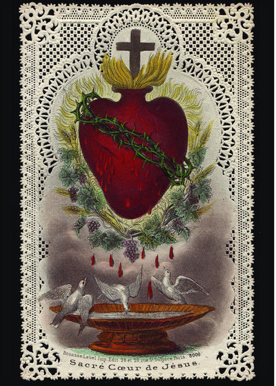 Sacred Heart of Jesus Print 5X7