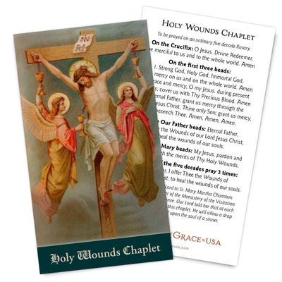Holy Wounds Chaplet,  New for 2019