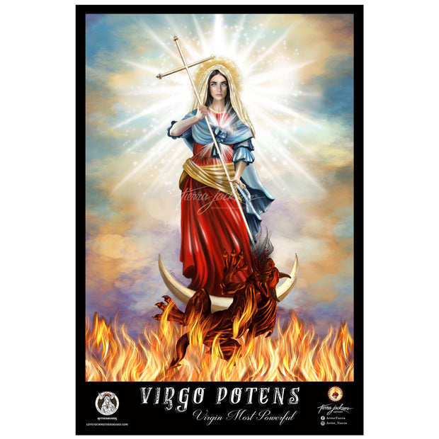 Virgo Potens/Virgin Most Powerful Poster