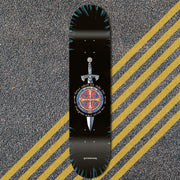 St. Benedict Sword 8.0 mellow & steep/8.25 steep (Deck)