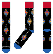 NEW St. Benedict Sword Socks - Made in the USA