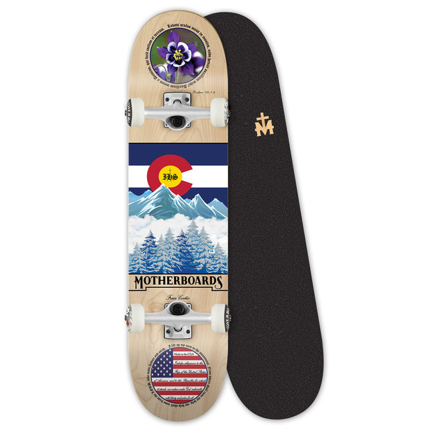 """Colorado"" by the Skating Friar. 8.25 Premium Complete LATIN LINE"