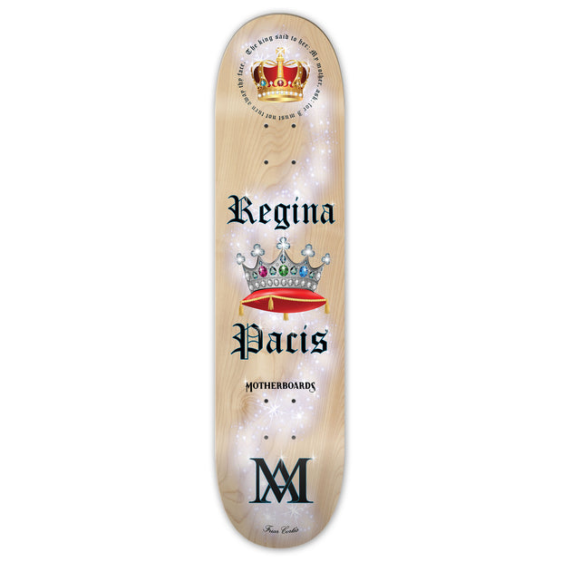 """Regina Pacis"" by the Skating Friar. 8.25 Premium Complete LATIN LINE"
