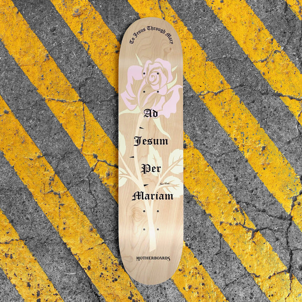 """Rose"" by the Skating Friar. 8.25 Premium Complete LATIN LINE"