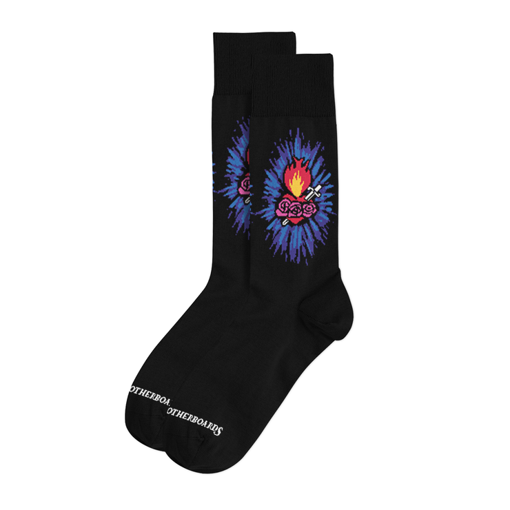 NEW Immaculate Heart of Mary Socks - Made in the USA