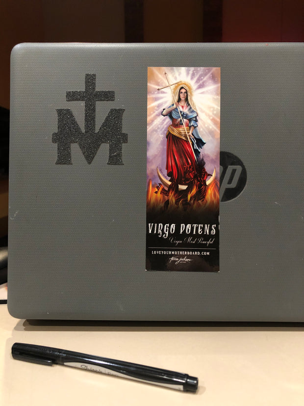 Virgo Potens/Virgin Most Powerful Sticker