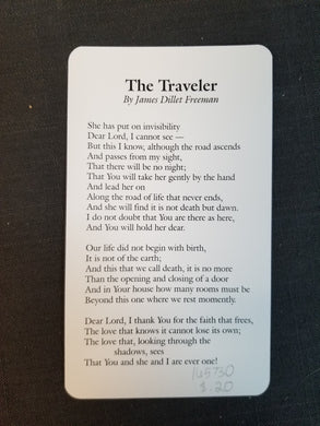 The Traveler By James Dillet Freeman Female version
