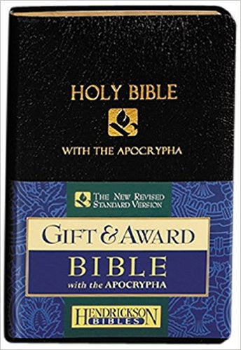Bible - Holy Bible: New Revised Standard Version With The Apocrypha Black Imitation Leather, Gift & Award Bible