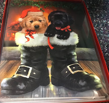 Puppies 12 cards and envelopes..... Christmas card