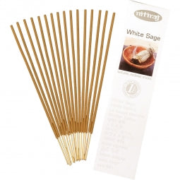 Nitiraj Incense 25gr - White Sage