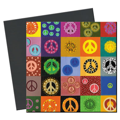 Peace Is Everywhere Premium Magnets