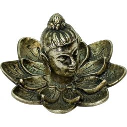 Aluminum Incense Holder - Buddha