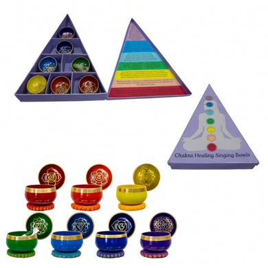 Mini Singing Bowl Set - Chakras