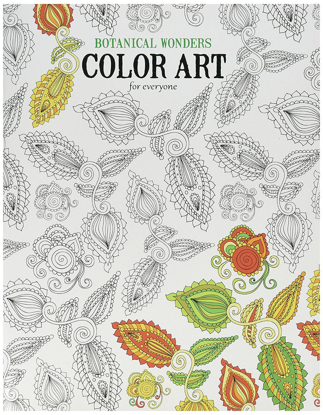 Leisure Arts  Botanical Wonders Color Art, Assorted
