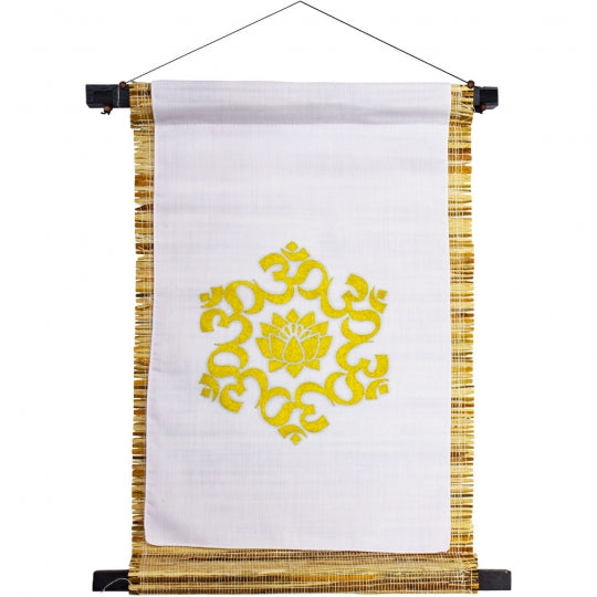 Small Seagrass Banner - Om Lotus