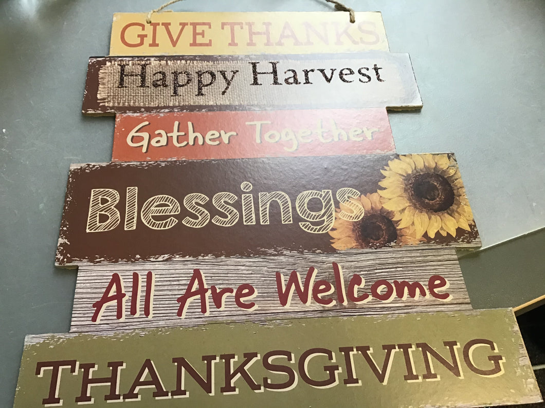 give thanks and gather