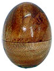 Wood Egg Shaker:  Plain