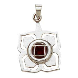 Sterling Silver Root Chakra Pendant