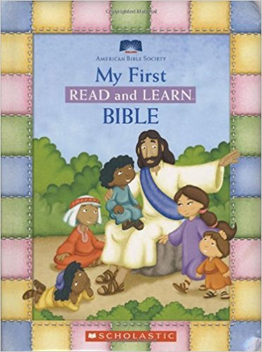 My First Read And Learn Bible Board book