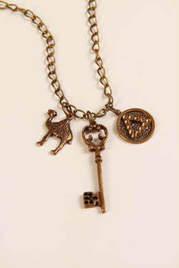 Brass Key Recovery Necklace