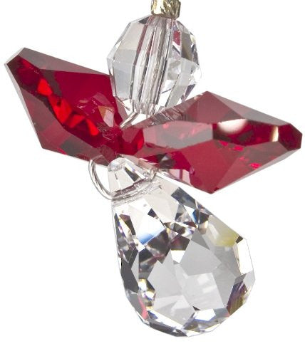 Crystal Guardian Angel, January Garnet