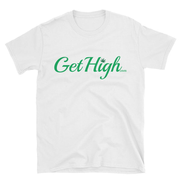 Get High Cannabis Friendly White T-Shirt - Unisex