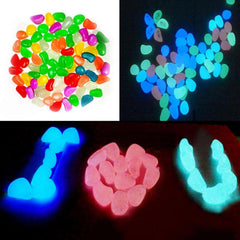 50pcs of Glow In The Dark Stone Ornaments/Decorations - Shop Get High Cannabis Clothing & Gear
