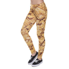 New Multi-Color Weed Printed Leggings - Shop Get High Cannabis Clothing & Gear