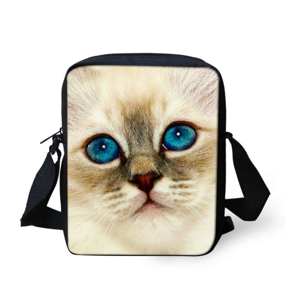 Denim Cat Messenger Bag - Shop Get High Cannabis Clothing & Gear