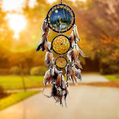 Handmade Dream Catcher Wall Hanging