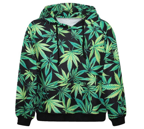 Cannabis Jungle Hoodie - Unisex - Shop Get High Cannabis Clothing & Gear