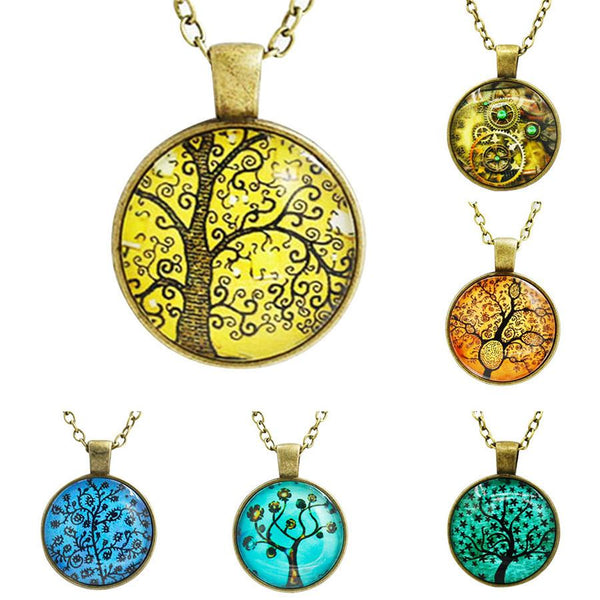 Necklace - Beautiful Tree Necklaces