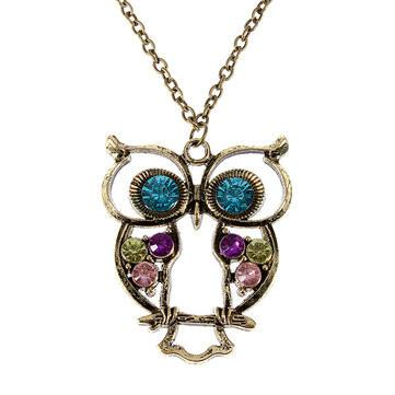 High Owl Necklace - Shop Get High Cannabis Clothing & Gear
