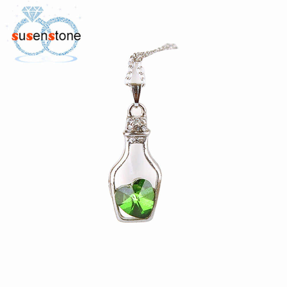 Bottle of Love Pendant - Shop Get High Cannabis Clothing & Gear