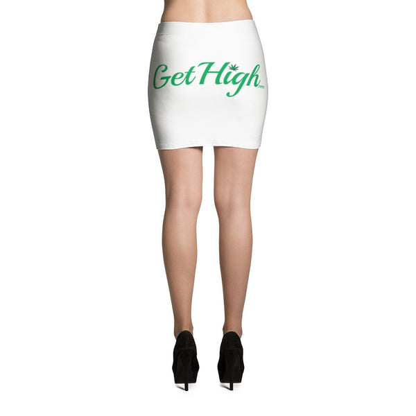 Get High Mini Skirt - Shop Get High Cannabis Clothing & Gear