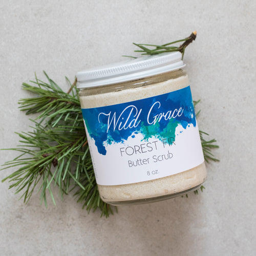 Forest Fir Butter Scrub