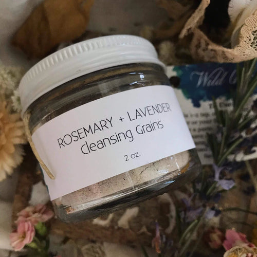Rosemary + Lavender Cleansing Grains