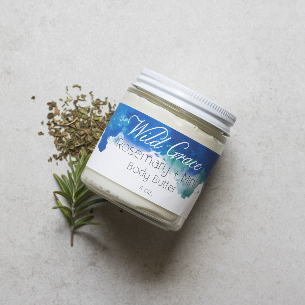 Rosemary + Mint Body Butter