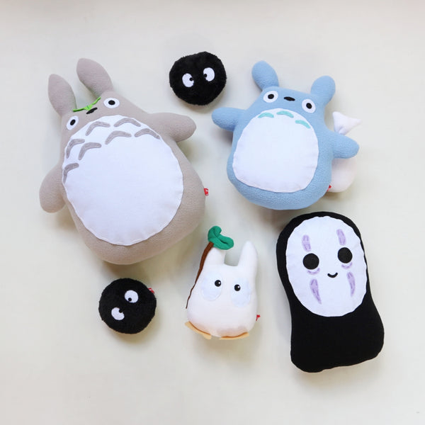 Chibi Studio Ghibli Plushies - Common Room PH