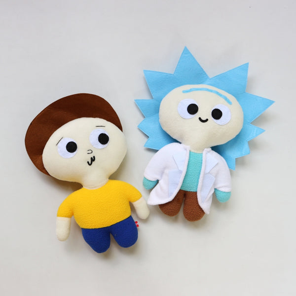 Chibi Rick & Morty Plushies