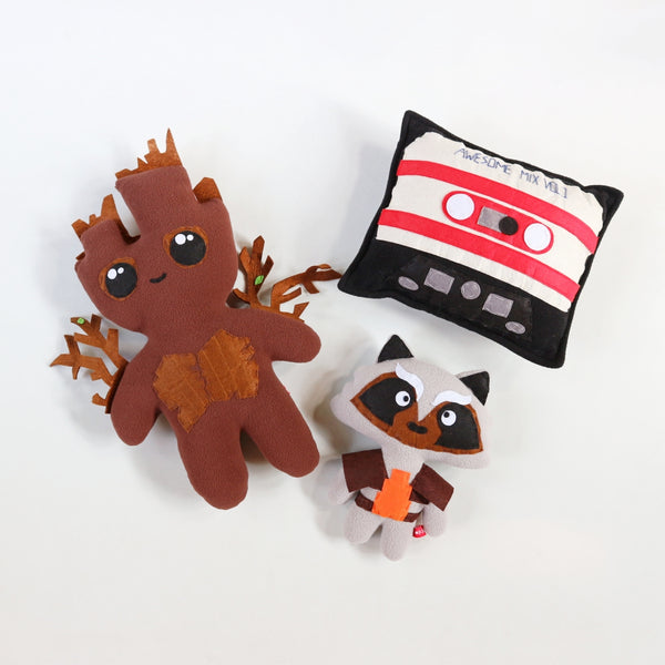 Chibi Guardians of the Galaxy Plushies - Common Room PH