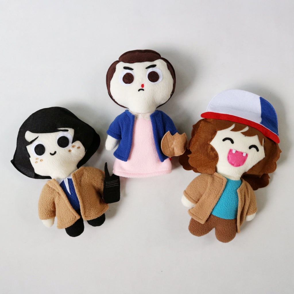 Chibi Stranger Things Plushies